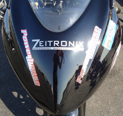 Zeitronix on Hayabusa Nose