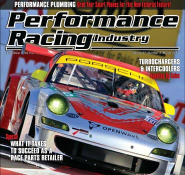 PRI Magazine Cover March 2012